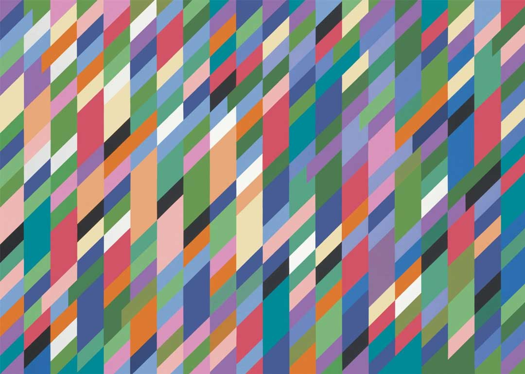this is the 4th image i wanted to show by Bridget Riley, 1991 courtesy National Galleries